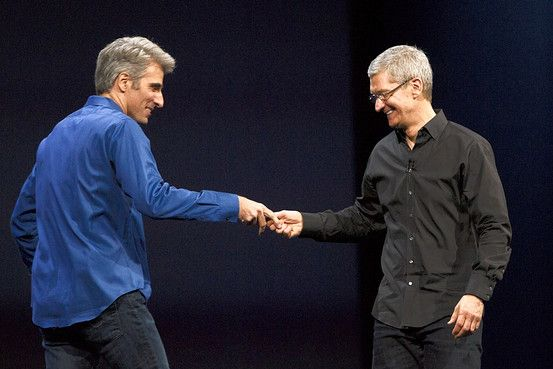 A new frontman for Apple emerging. The company's recently installed software chief made an impression at Monday's developers conference, but with that spotlight comes the task of maintaining customer loyalty.