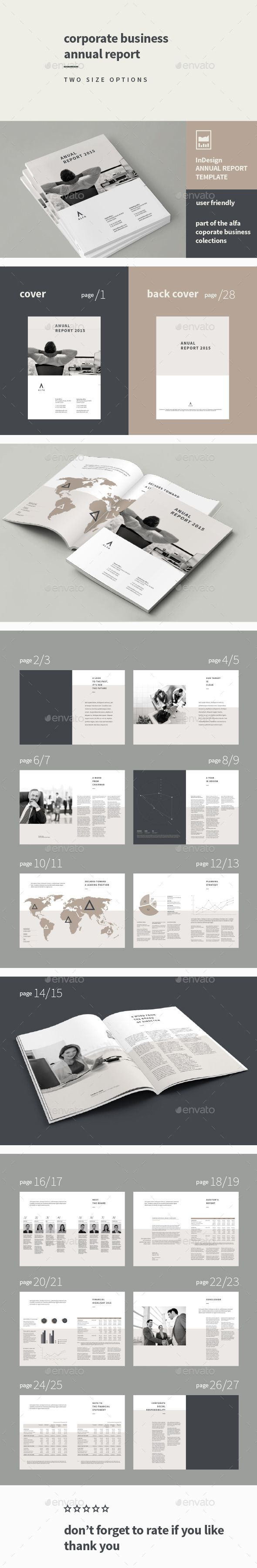 61 best Annual Report Templates images on Pinterest