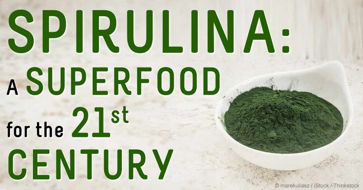 Spirulina, a type of blue-green algae, is an incredible superfood regarded as a valuable food source to prevent malnutrition. http://articles.mercola.com/sites/articles/archive/2014/09/29/spirulina-benefits.aspx