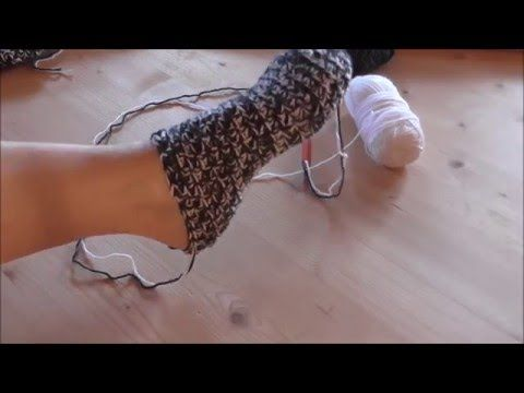 Dicke Socken häkeln, einfachste Anleitung der Welt - YouTube