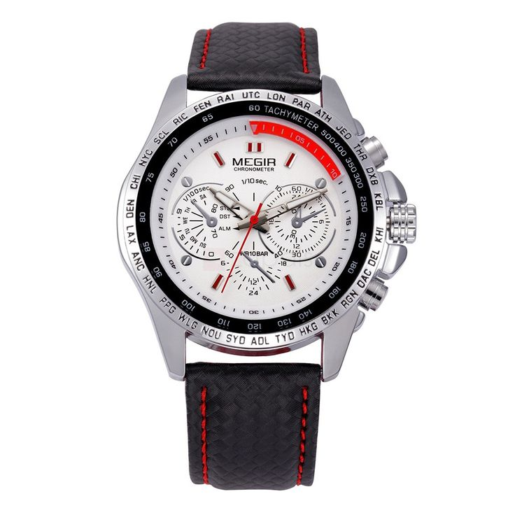 Megir 1010 Mens Stylish Wrist Watch Decorative Sub-dial    Add Review  SKU: WP1070711104157  $ 9.99