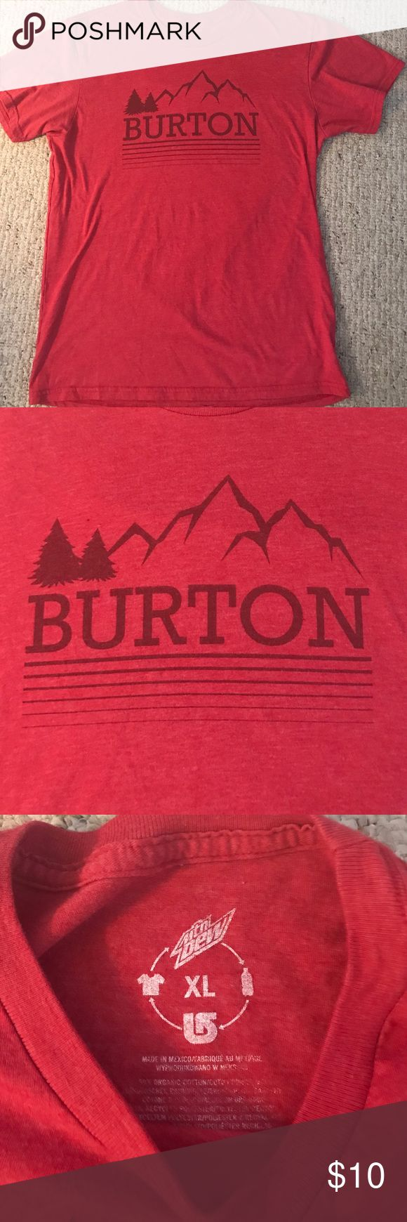 Burton T-shirt Burton t-shirt slim fit cut fits like a large!! Burton Shirts Tees - Short Sleeve