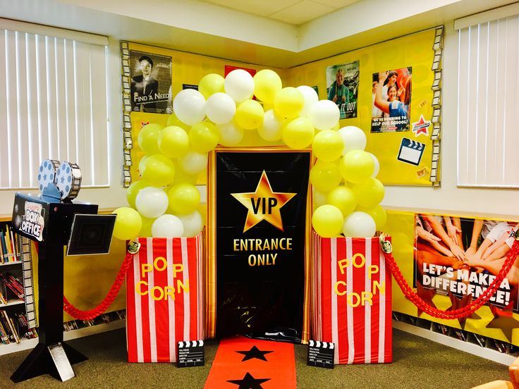 25+ best On Campus Backyard Box Office Decorations images by ...