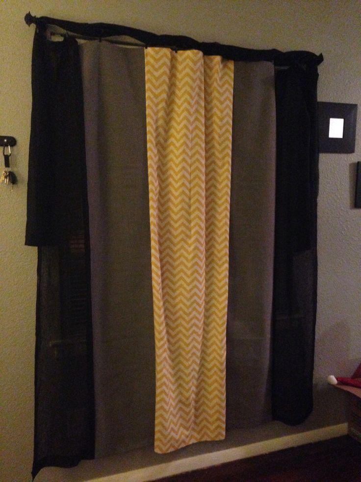 repurposed furniture diy. chevron yellow grey and black curtains diy curtainsrepurposed furniturechevrondiy crafts repurposed furniture diy
