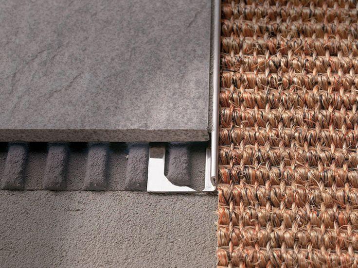 Trecere din inox pentru acoperiri cu inaltimi reduse