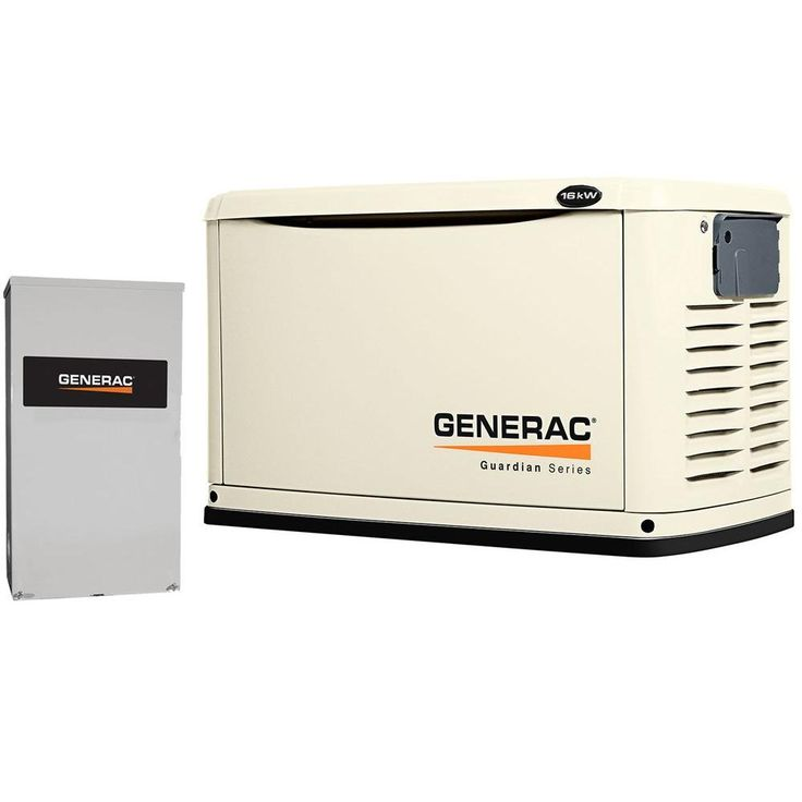 Generac 16000-Watt Air Cooled Automatic Standby Generator with 200 Amp SE Rated Transfer Switch  sc 1 st  Pinterest : generac generator wiring diagram - yogabreezes.com