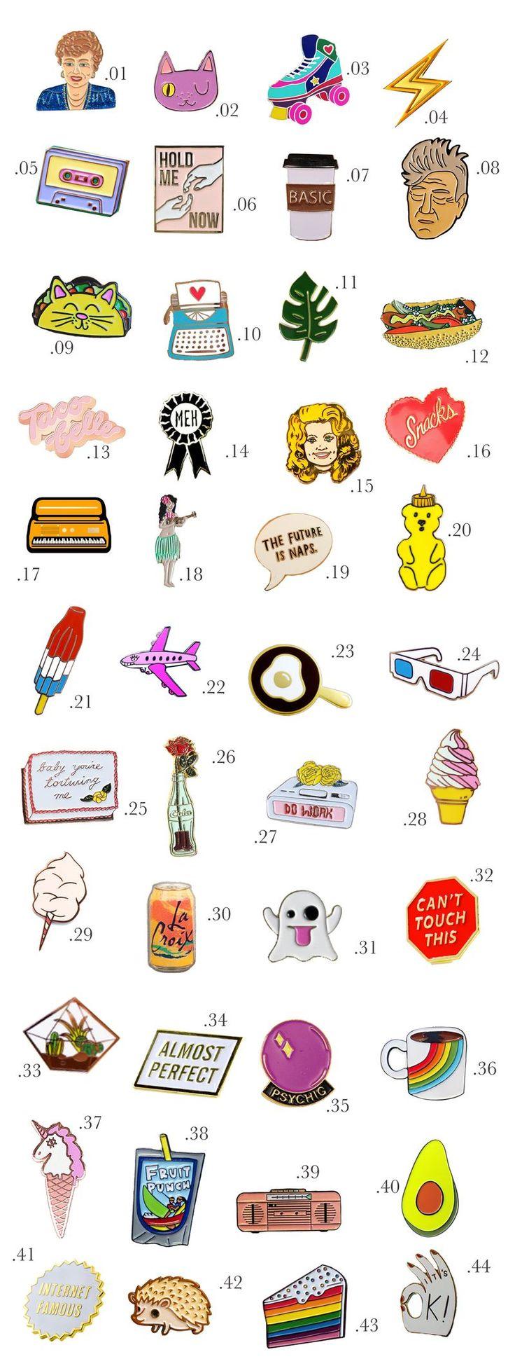 Enamel Pin Shopping Guide (Part 2!) | A Beautiful Mess