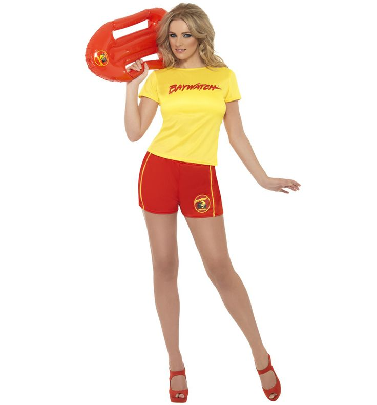 Womens Baywatch Beach Fancy Dress Costume Bouncy, pouty, leggy! If these words describe you perfectly or simply bring back memories of your favourite Saturday night viewing back in the day, this fabulous ladies Baywatch fancy dress costume wi http://www.MightGet.com/february-2017-3/womens-baywatch-beach-fancy-dress-costume.asp