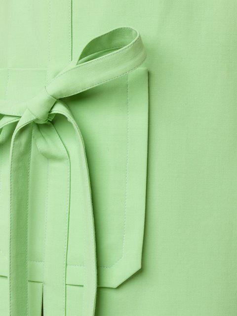 Monique Lhuillier платье шифт с завязками