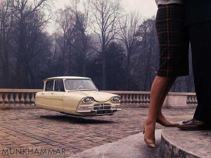 Flying Citroën Cars Series By Jacob Munkhammar