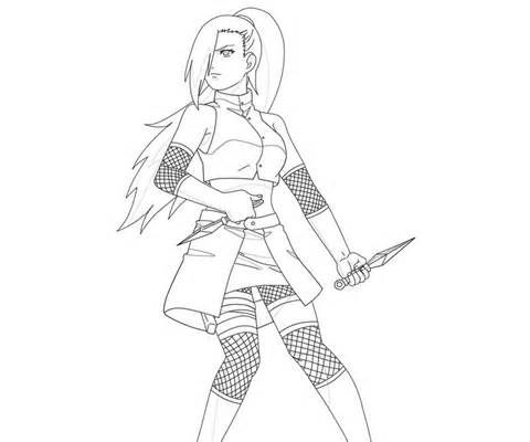 sakura vs ino coloring pages coloring pages my main lavender bush clover flower girl of the yamanaka clan ino yamanaka pinterest lavender bush