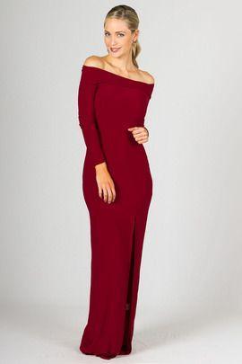 Marlene Maxi Dress - Sangria by Paper Scissors Frock