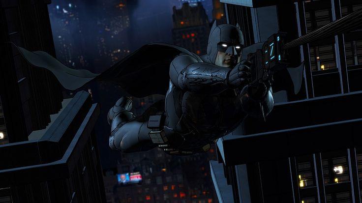 Batman Grappling Gun Batman Telltale Batman: The Telltale Series Trailer – Step Out of the Shadows
