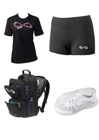 Nfinity Vengeance Package- Comes with Cheer Tee, Bootie shorts, backpack and the Vengeance Shoe!