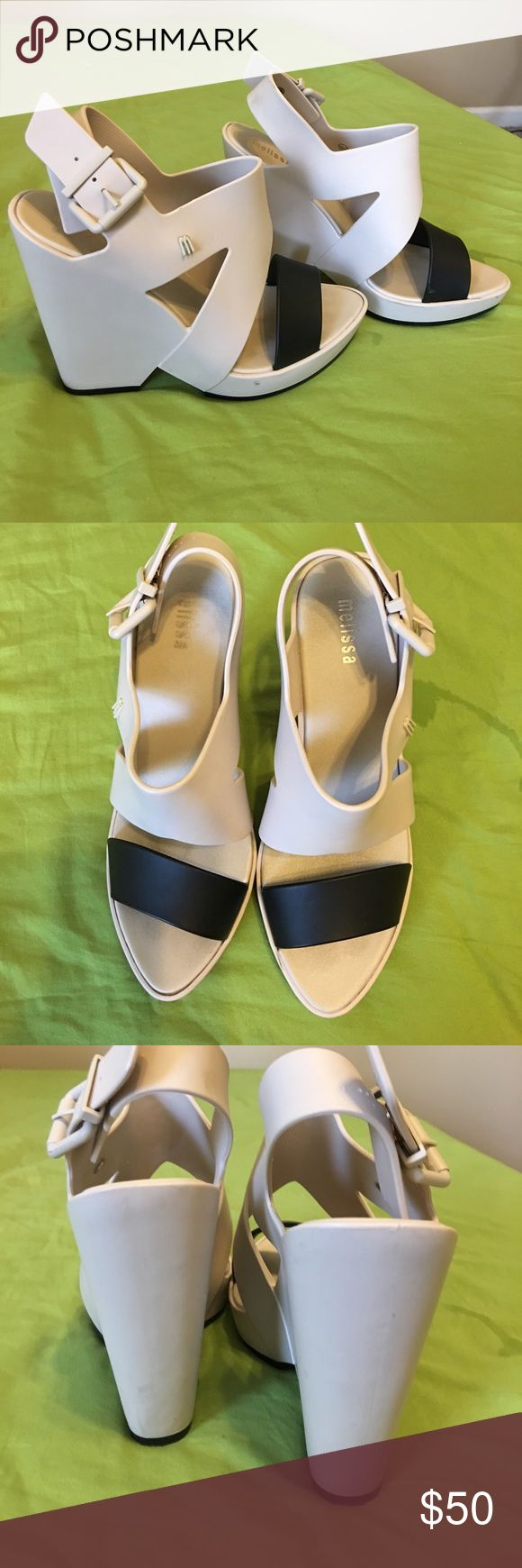 Melissa Sandals Made in Brazil. Very good condition. Melissa Shoes Sandals