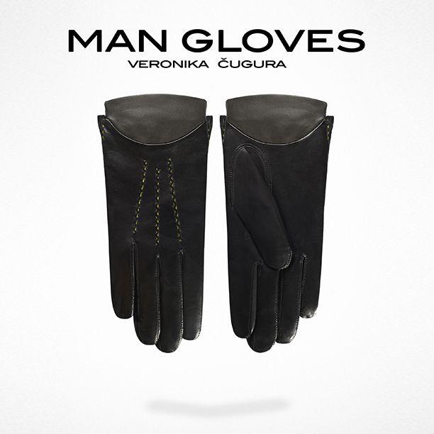 Man Gloves N°3 - Veronika Cugura Accessories