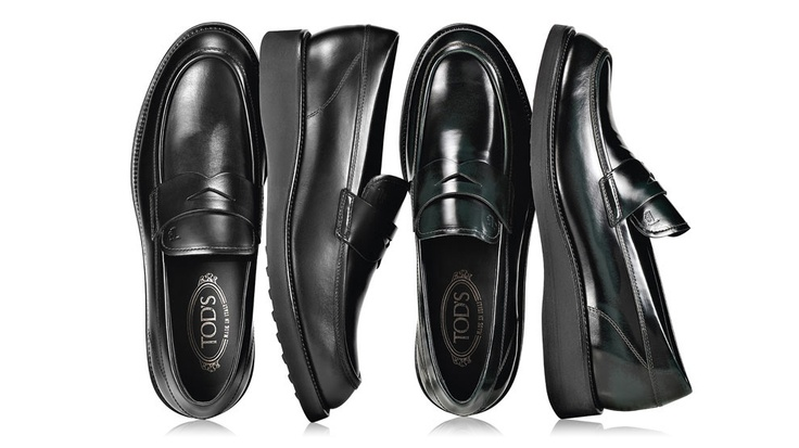 Autumn Winter Collection 2012-13.  Leather Penny Loafers