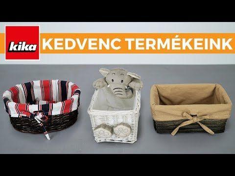 Kedvenc termékeink - Kosarak és tárolók | Kika Magyarország - YouTube