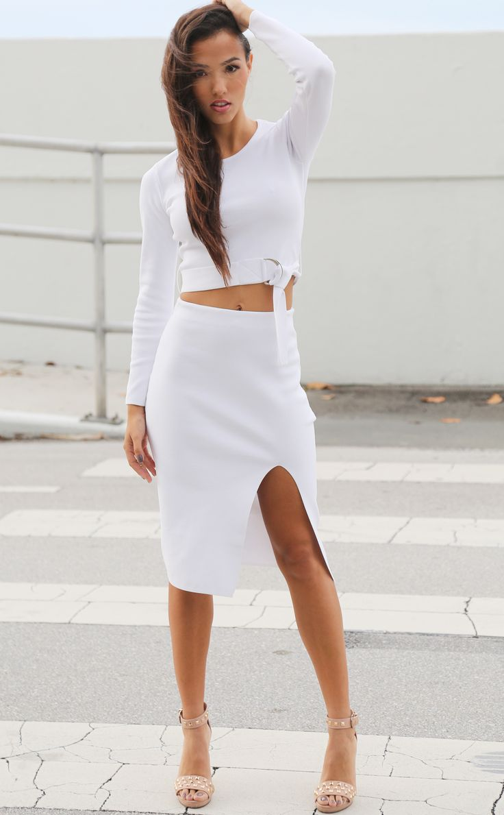 match white pencil skirt white pencil the o