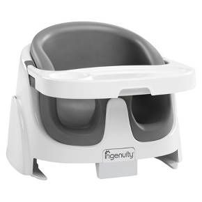 Ingenuity Baby Base 2-in-1 Booster Seat - Aqua