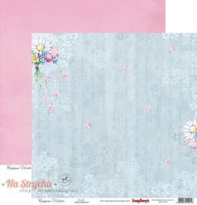 Papier 30x30 - FluffyMe Summer Joy Wild Flowers Bunch - Scrapberry's SCB220605102 Na-Strychu