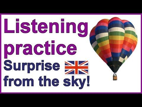 """Practise your English listening skills 