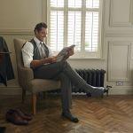 Дэвид Ганди (David Gandy) вфотосессии дляLondon Sock Co