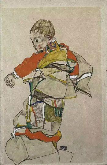 大师埃贡·席勒的速写作品欣赏_江苏频道_凤凰网