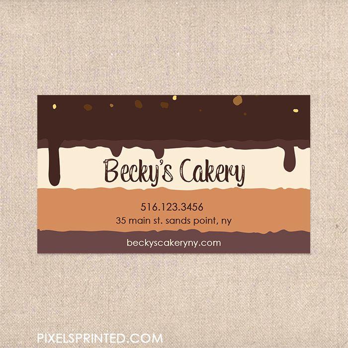 31 best bakery business cards images on Pinterest Bakery