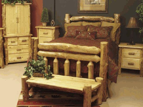 Rustic Wooden Bed Frames