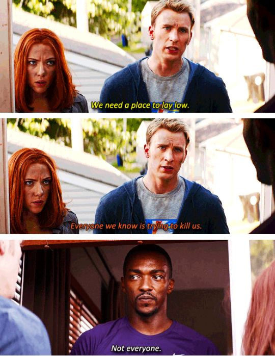 Steve, Natasha and Sam