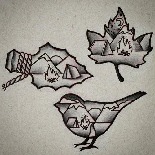 camping tattoo ideas - Google Search