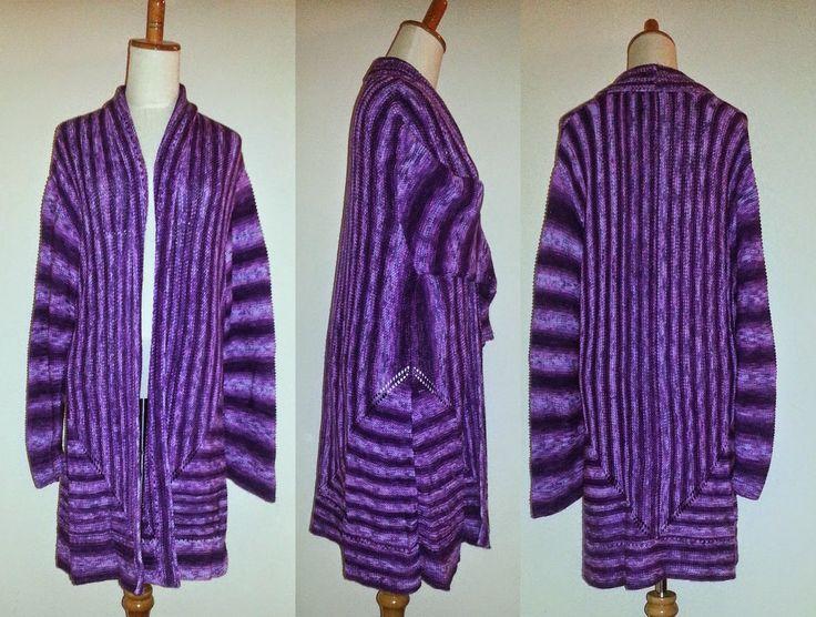Den kreative nørkler: Mine kreationer - Jakke fra Drops model nr. 113-8 Garn: Batik acryl