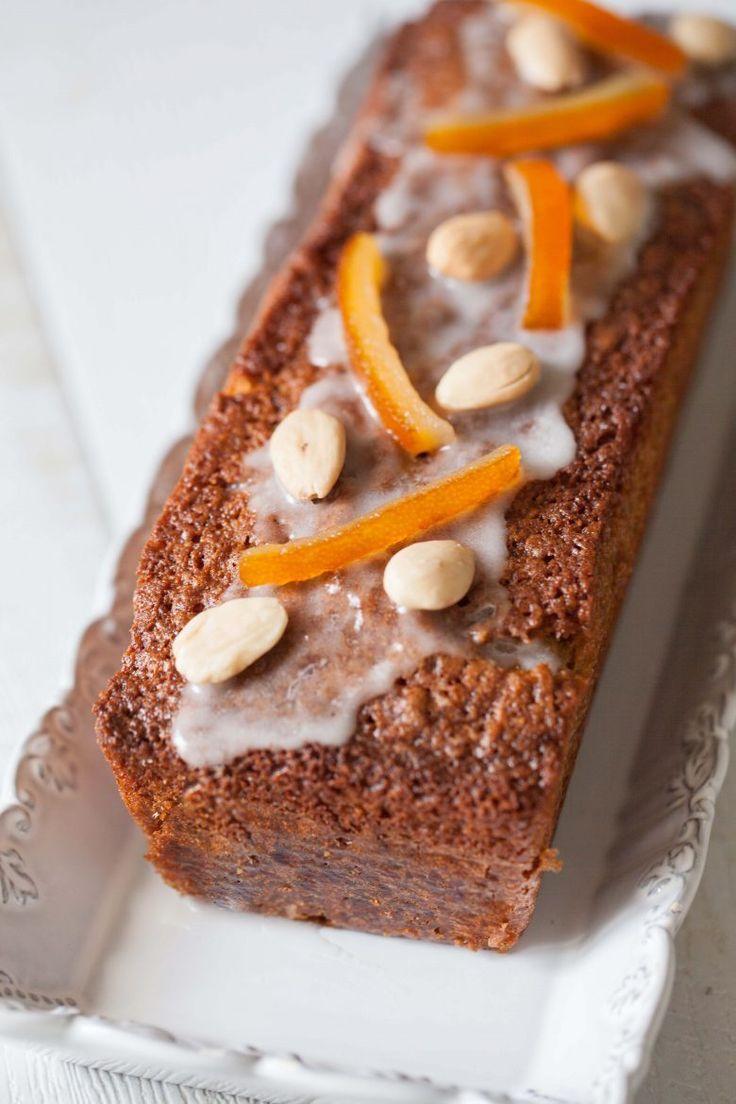 Panier de Saison » Cake aux amandes et à l'orange sanguine: le lundi c'est permis de se retaper!