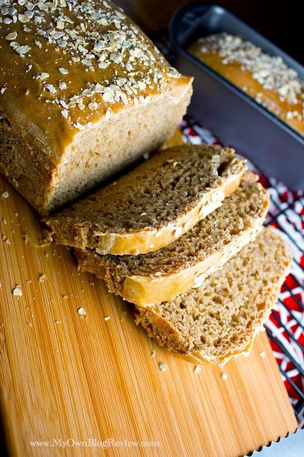 This honey wheat bread is so dense and delicious, just like the kind you love from Cheesecake, just without the extra caramel coloring ~ www.MyOwnBlogReview.com