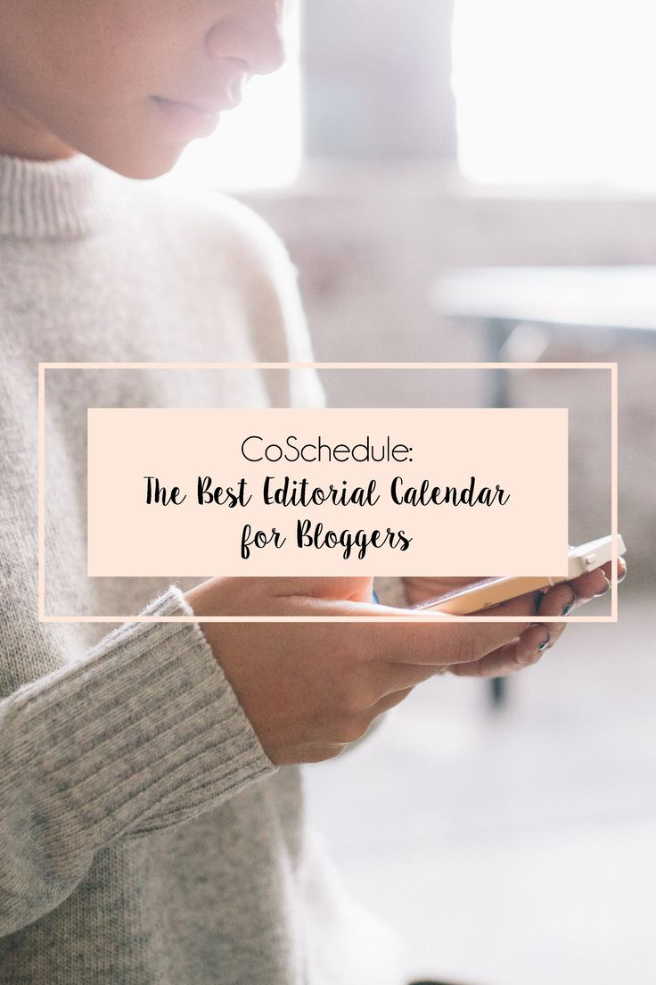 The best editorial calendar, ever. Check it out!