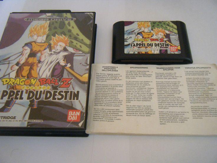 Dragon Ball Z L'Appel DU Destin Sega Megadrive Complet Occasion | eBay