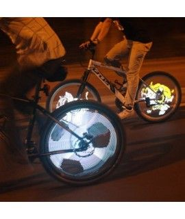 Yueqi YQ8008 216pcs LED DIY Programmable Bike Spoke Light