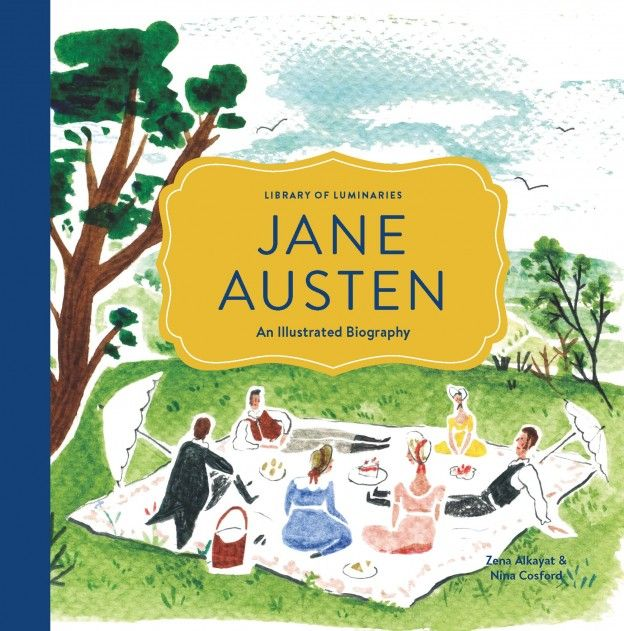 Jane Austen: An Illustrated Autobiography - love this new book!