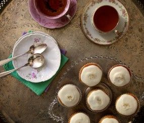 Honey Chamomile Cupcakes ~ Joy the Baker | Just Desserts | Pinterest