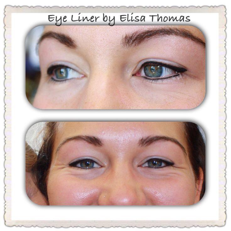 #semipermanent #eyeliner #cosmetics https://www.facebook.com/Semi-Permanent-Cosmetics-by-Elisa-Thomas-942498729173499/