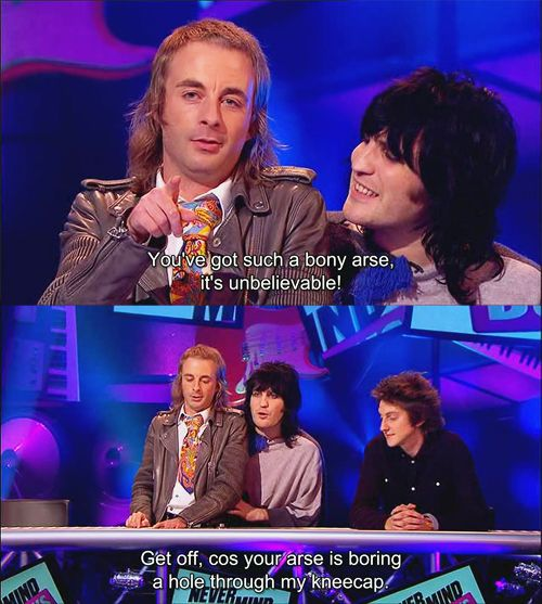 I love Paul Foot... (And so does Noel.) He's such a delightful weirdo.