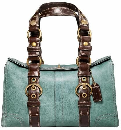 LOVE this Coach Chelsea Vintage Leather Satchel.