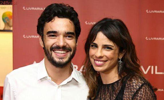 Maria Ribeiro esposa de Caio Blat discorda do marido que fez fala em apoio a José Mayer