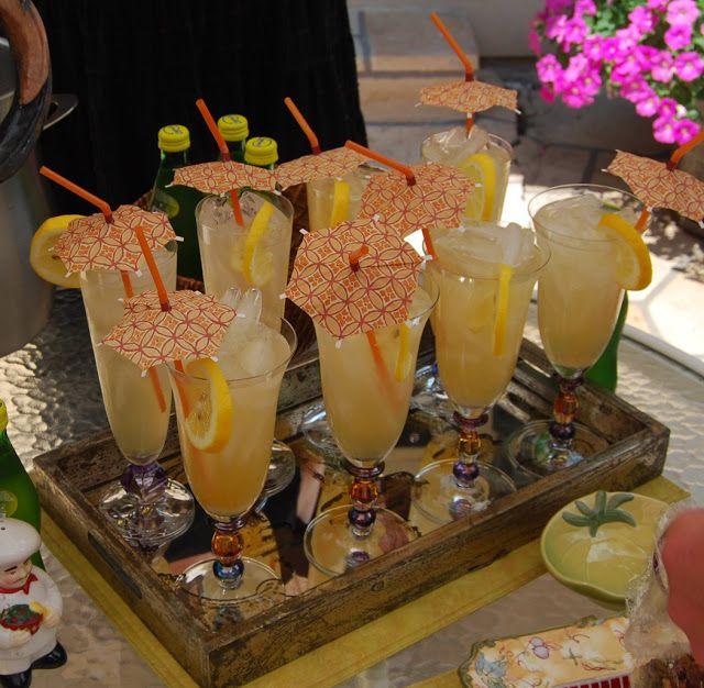 8 Plates: Gabriella's Vodka Limonata... Cheers!