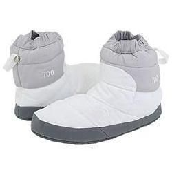 The North Face Women's NSE Tent Bootie II White/Foil Grey Slippers - Overstock™ Shopping - Great Deals on The North Face Slippers