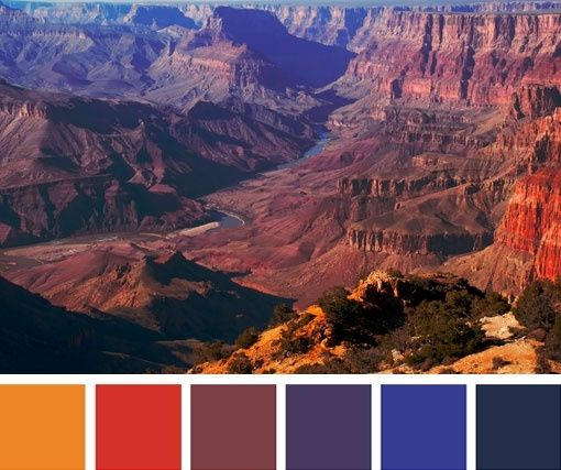 154 Best Images About Orange & Blue Rooms On Pinterest