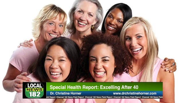 It's 2017 and time to become the healthiest you can be. Check out this new health segment with Dr. Christine Horner, MD. We focus on excelling after the age of 40 years old. Watch this televised report now or later with someone you love.  https://vimeo.com/213938703  #LTARadio #SCBTV182 #news #medicine #women #after40 #health #healthy #radio #news #radioshow #podcast #tv #cable