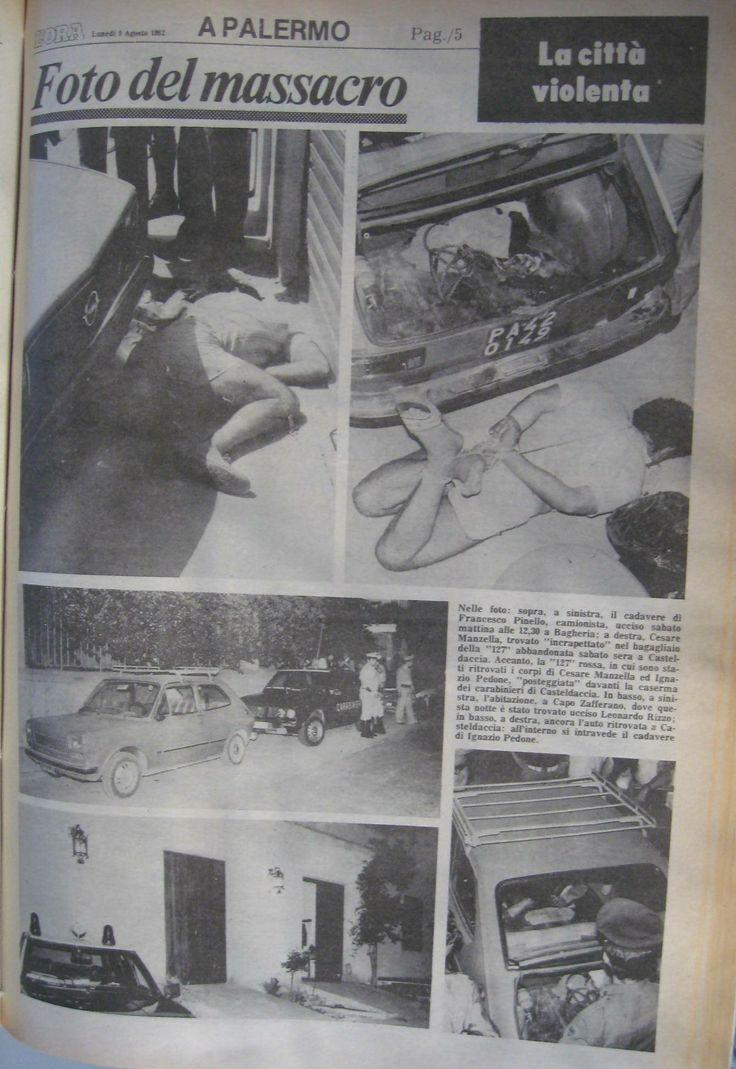9 agosto 1982, L'Ora, pagina