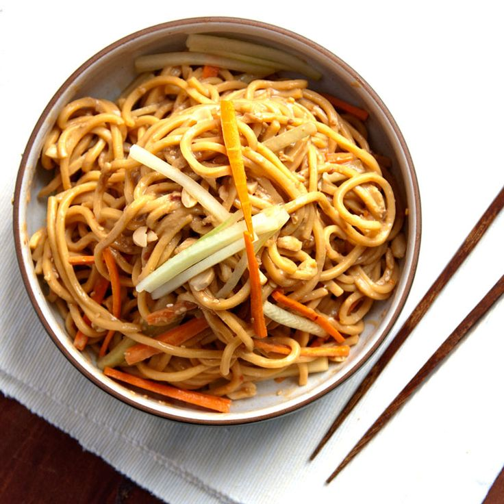 Chinese sesame noodles, with a silky, savory-sweet sauce, are best served cold.